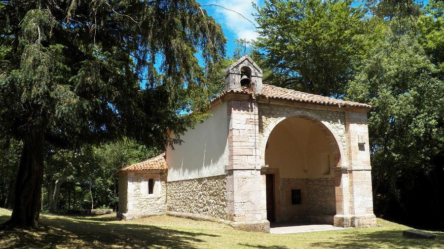 Ermita del Cristo del Camino, La Portilla de Llanes (Asturias) - Camino del Norte :: Albergues del Camino de Santiago