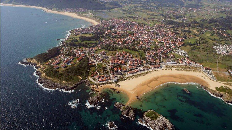 Vista de Noja (Cantabria) - Camino del Norte :: Albergues del Camino de Santiago
