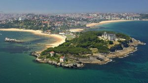 Vista de Santander (Cantabria) - Camino del Norte :: Albergues del Camino de Santiago