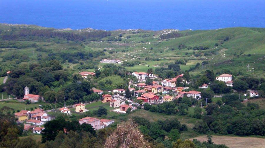Vista de Vidiago, Asturias - Camino del Norte :: Albergues del Camino de Santiago