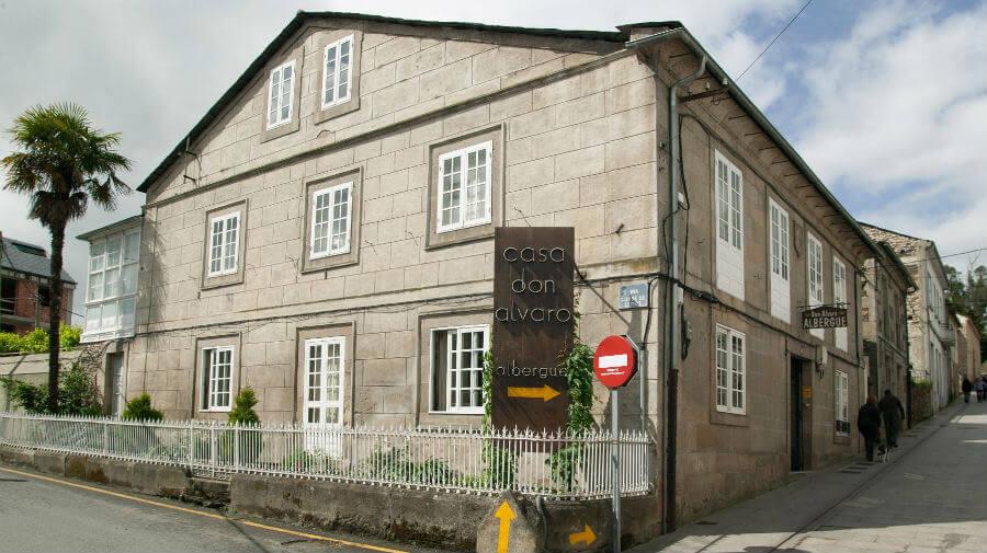 Albergue Casa Don Álvaro, Sarria, Lugo - Camino Francés :: Albergues del Camino de Santiago