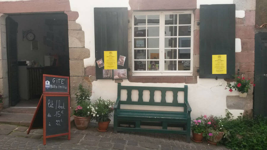 Albergue Gîte Buen Camino, Saint Jean Pied de Port, Francia - Camino Francés :: Albergues del Camino de Santiago