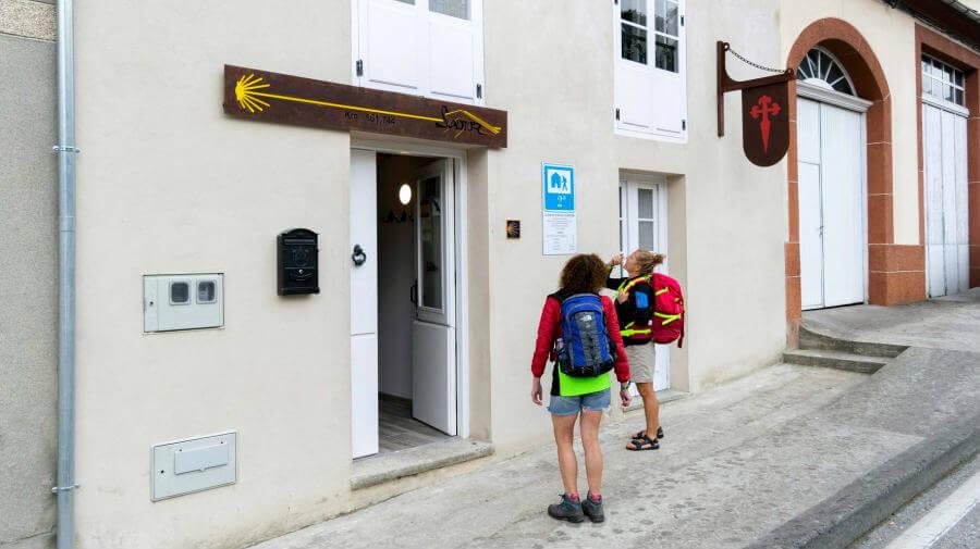 Nuevo albergue en Lourenzá, Camino del Norte