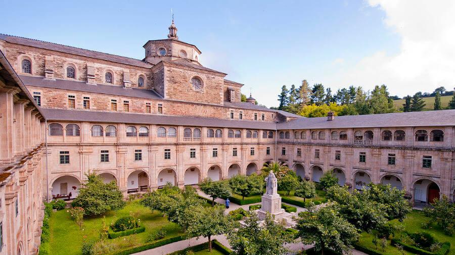 Albergue de peregrinos del Monasterio de Samos, Samos, Lugo - Camino Francés :: Albergues del Camino de Santiago
