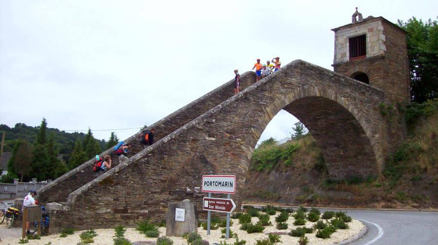 Portomarín, Lugo, Camino Francés :: Guía del Camino de Santiago