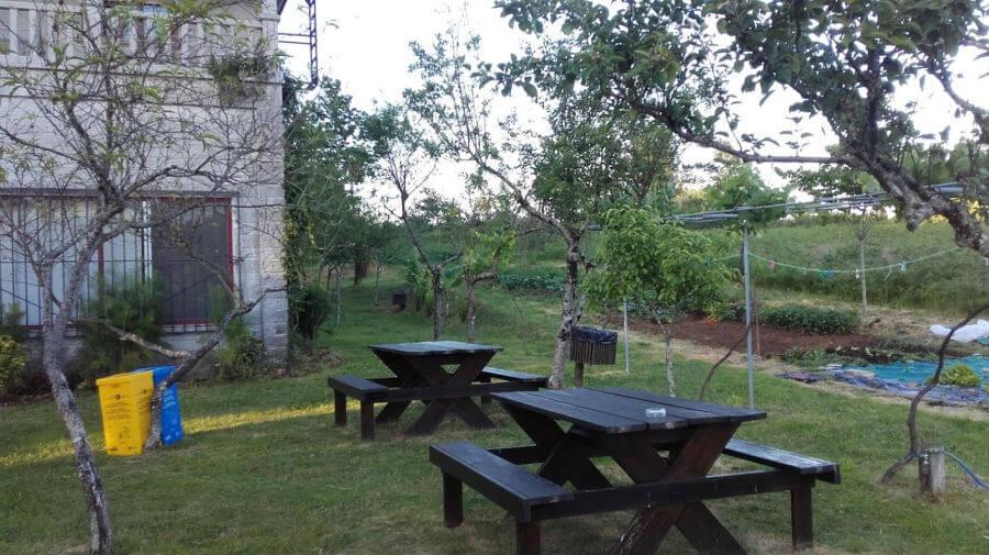 Albergue Pensión Camiño das Ocas, Bebedeiro-Burres, La Coruña - Camino Francés :: Albergues del Camino de Santiago
