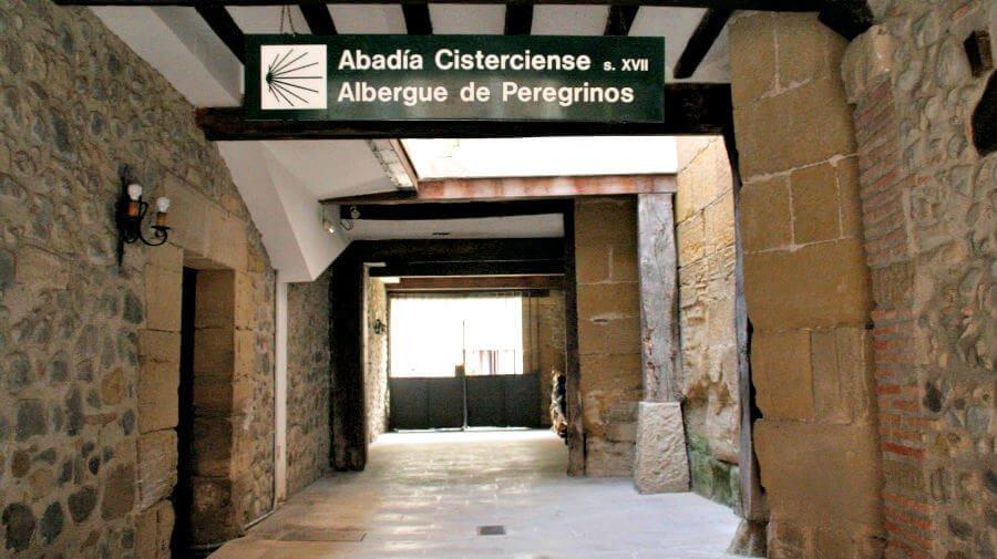 Albergue de peregrinos de la Abadía Cisterciense, Santo Domingo de la Calzada, La Rioja - Camino Francés :: Albergues del Camino de Santiago
