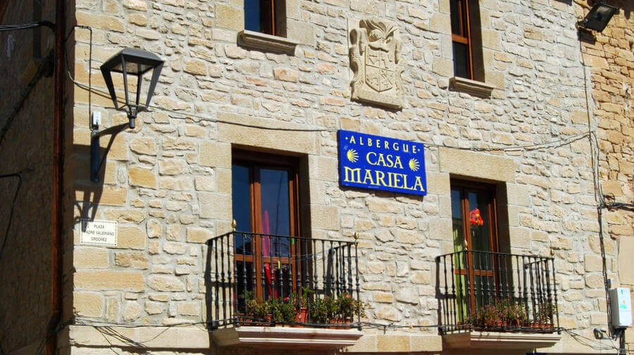 Albergue de peregrinos Casa Mariela, Torres del Río, Navarra - Camino Francés :: Albergues del Camino de Santiago