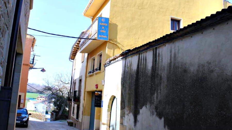 Albergue José Ramón, Lorca, Navarra - Camino Francés :: Albergues del Camino de Santiago
