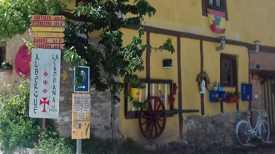 Albergue de peregrinos La Campana, Espinosa del Camino, Burgos - Camino Francés :: Albergues del Camino de Santiago
