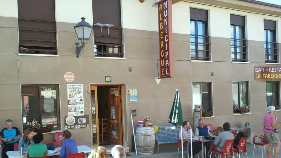 Albergue municipal La Taberna de Agés, Agés, Burgos - Camino Francés :: Albergues del Camino de Santiago