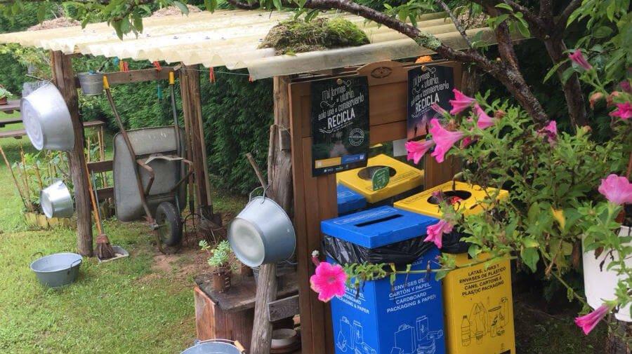 Ecoembes fomenta el reciclaje y la lucha contra la basuraleza entre los peregrinos del Camino de Santiago