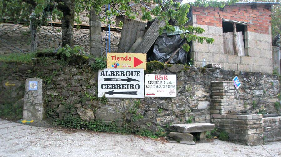 La Faba, León (Etapa de Villafranca del Bierzo a O Cebreiro) - Camino de Santiago Francés :: Albergues del Camino de Santiago