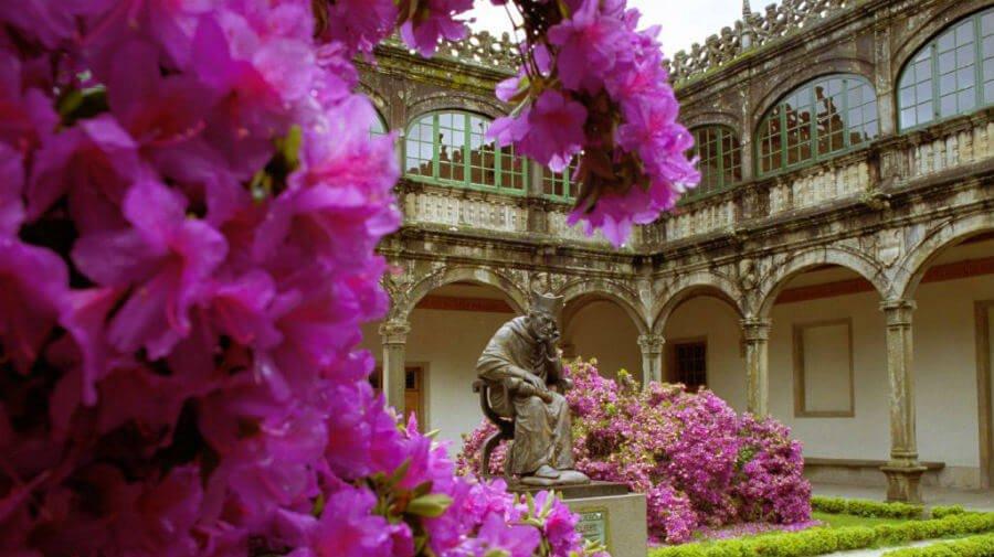 Colegio de Fonseca , Santiago de Compostela (Foto: Turismo de Santiago) :: Guía del Camino de Santiago