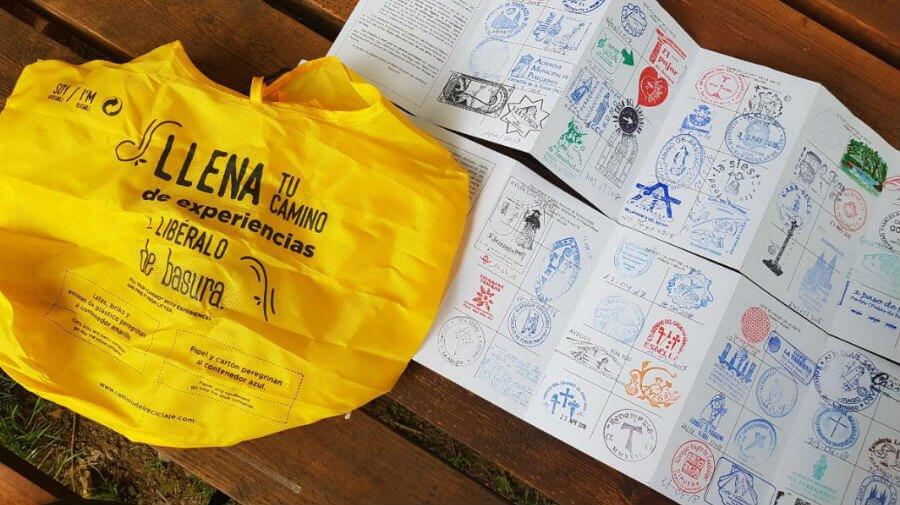 Bolsa de reciclaje para el Camino de Santiago :: Albergues del Camino de Santiago