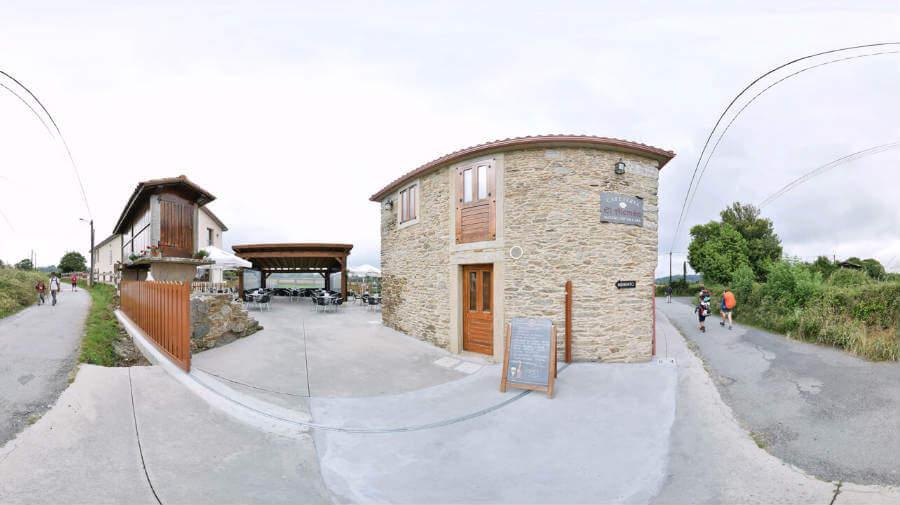 Albergue El Alemán, Boente, La Coruña - Camino Francés :: Albergues del Camino de Santiago