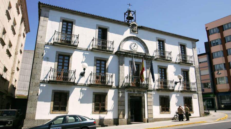 Casa do Concello, Arzúa, La Coruña, Camino Francés :: Albergues del Camino de Santiago