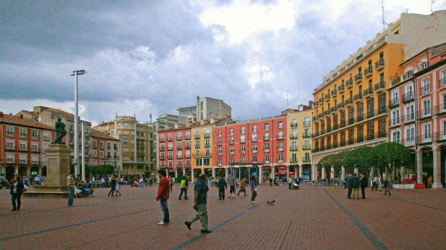 Plaza Mayor de Burgos, Camino Francés :: Guía del Camino de Santiago