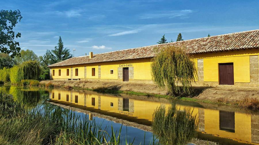 Canal de Castilla, Frómista, Palencia, Camino Francés :: Guía del Camino de Santiago