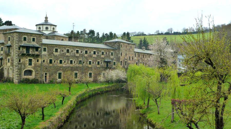 Monasterio de Samos, Lugo, Camino Francés :: Guía del Camino de Santiago