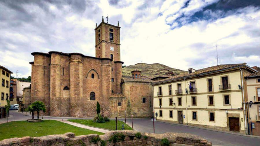 Iglesia de Santa María la Real, Nájera, La Rioja - Camino Francés :: Albergues del Camino de Santiago
