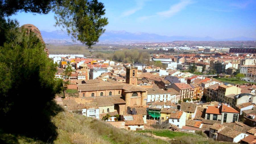 Vista de Nájera, La Rioja, Camino Francés :: Guía del Camino de Santiago