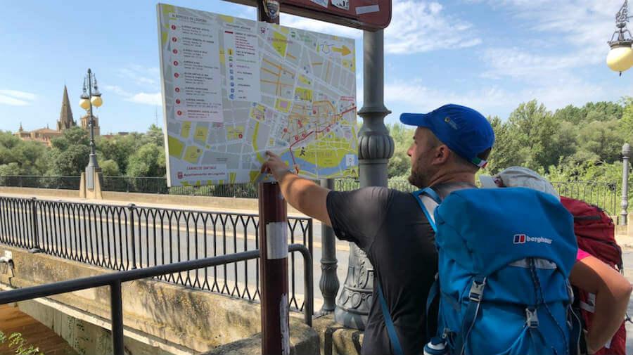 El Camino de Santiago frena su auge en La Rioja