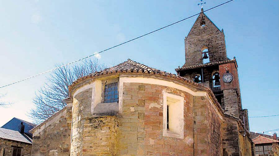Iglesia de la Asunción, Rabanal del Camino, León, Camino Francés :: Albergues del Camino de Santiago