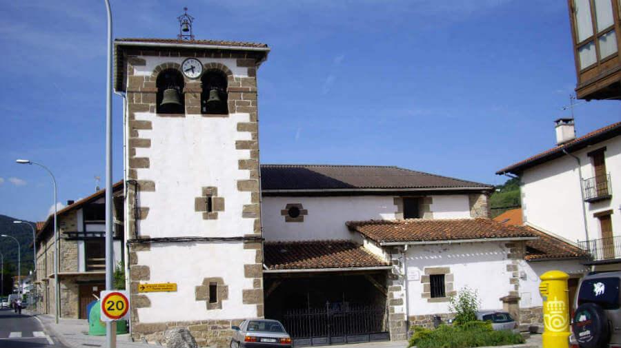 Iglesia de San Martín, Zubiri, Navarra - Camino Francés :: Guía del Camino de Santiago