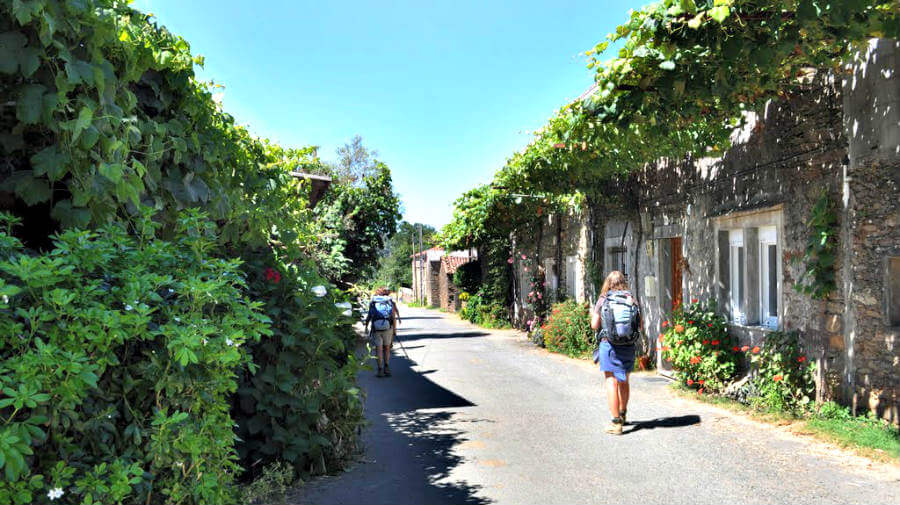 A Rúa (O Pedrouzo), La Coruña - Camino Francés (Etapa de Arzúa a Monte do Gozo) :: Guía del Camino de Santiago