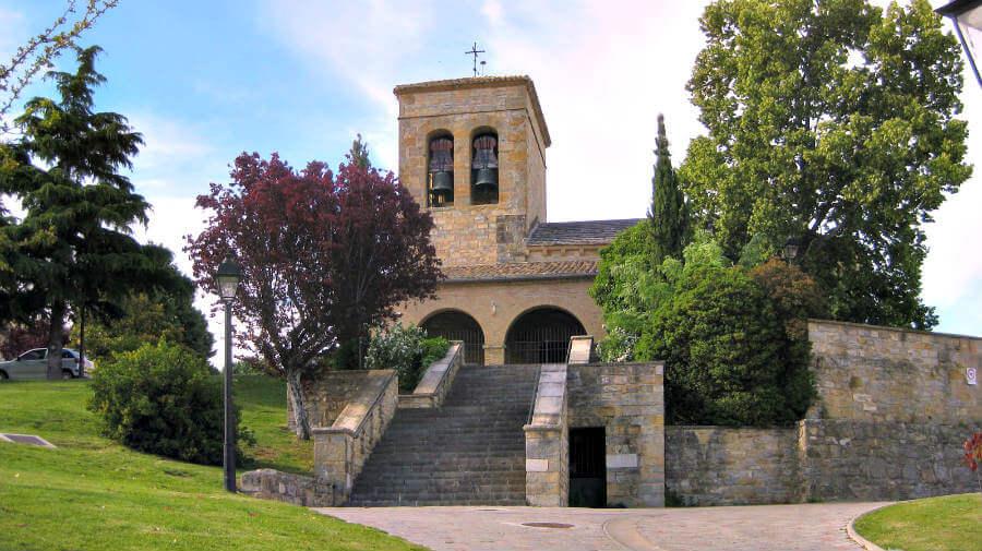 Iglesia de San Emeterio y San Celedonio, Cizur Menor, Navarra - Camino Francés :: Guía del Camino de Santiago