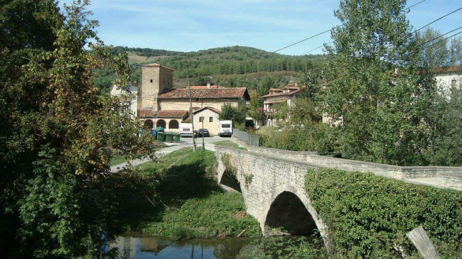 """""""Puente de los Bandidos"""", Larrasoaña - Camino Francés :: Guía del Camino de Santiago"""