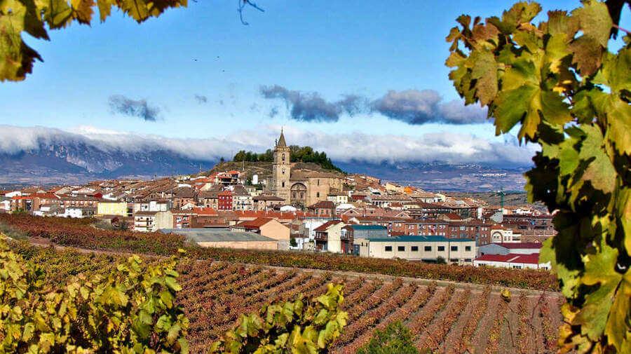 Vista de Navarrete, La Rioja - Camino Francés (Etapa de Logroño a Nájera) :: Guía del Camino de Santiago