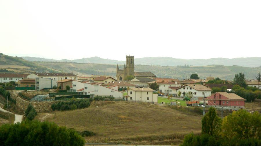 Vista de Obanos, Navarra - Camino Francés :: Guía del Camino de Santiago
