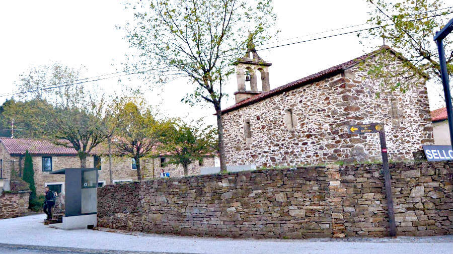 San Paio, La Coruña - Camino Francés (Etapa de Arzúa a Monte do Gozo) :: Guía del Camino de Santiago