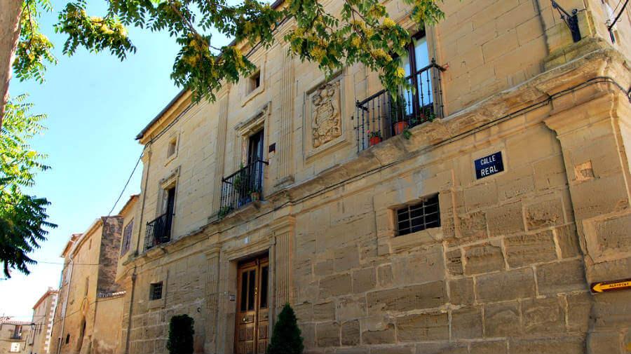 Casas solariegas, Sansol, Navarra - Camino Francés :: Guía del Camino de Santiago