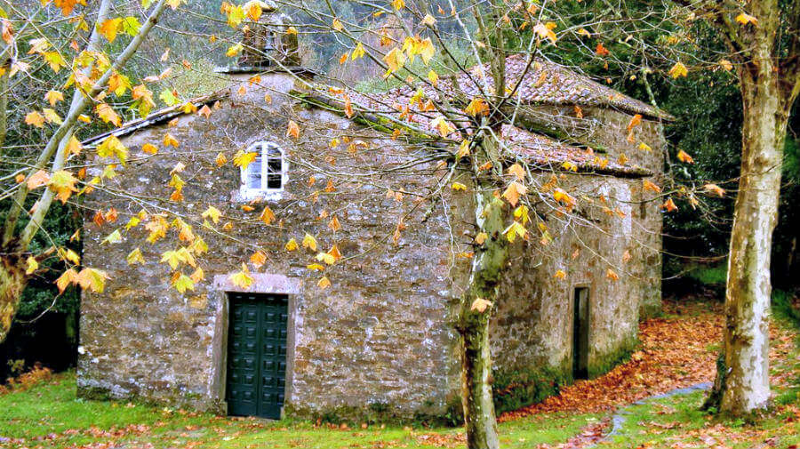 Santa Irene, La Coruña - Camino Francés (Etapa de Arzúa a Monte do Gozo) :: Guía del Camino de Santiago desde Sarria
