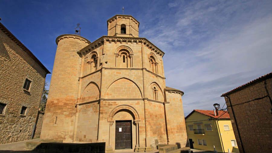 Iglesia del Santo Sepulcro, Torres del Río, Navarra - Camino Francés (Etapa de Los Arcos a Logroño) :: Guía del Camino de Santiago