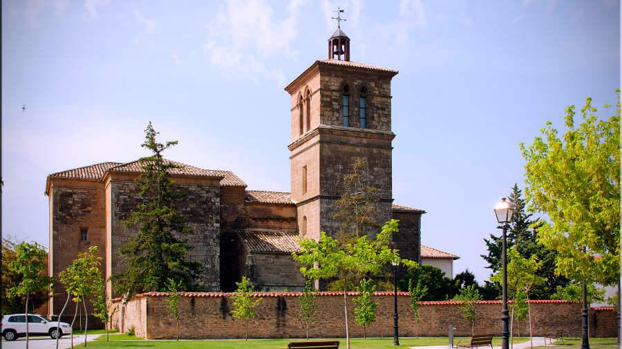 Iglesia de la Asunción, Uterga, Navarra - Camino Francés :: Guía del Camino de Santiago