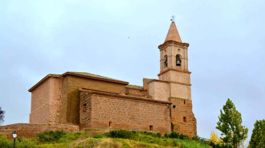 Iglesia de San Saturnino, Ventosa, La Rioja - Camino Francés (Etapa de Logroño a Nájera) :: Guía del Camino de Santiago