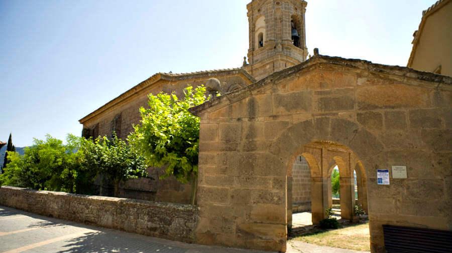 Iglesia de San Andrés, Villamayor de Monjardín, Navarra - Camino Francés :: Gua del Camino de Santiago
