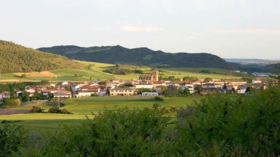 Vista de Villatuerta, Navarra  - Camino Francés (Etapa de Puente la Reina a Estella) :: Guía del Camino de Santiago