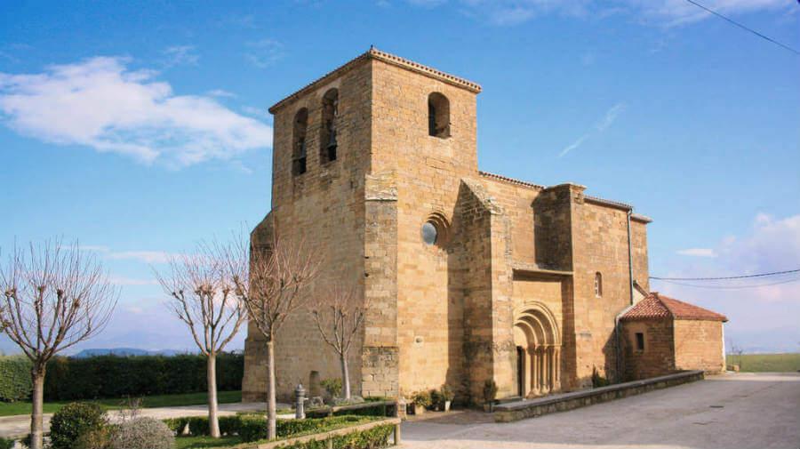 Iglesia de San Andrés, Zariquiegui, Navarra - Camino Francés (Etapa de Pamplona a Puente la Reina) :: Guía del Camino de Santiago