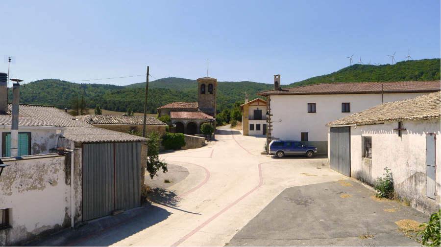 Abínzano, Navarra - Camino Aragonés :: Guía del Camino de Santiago