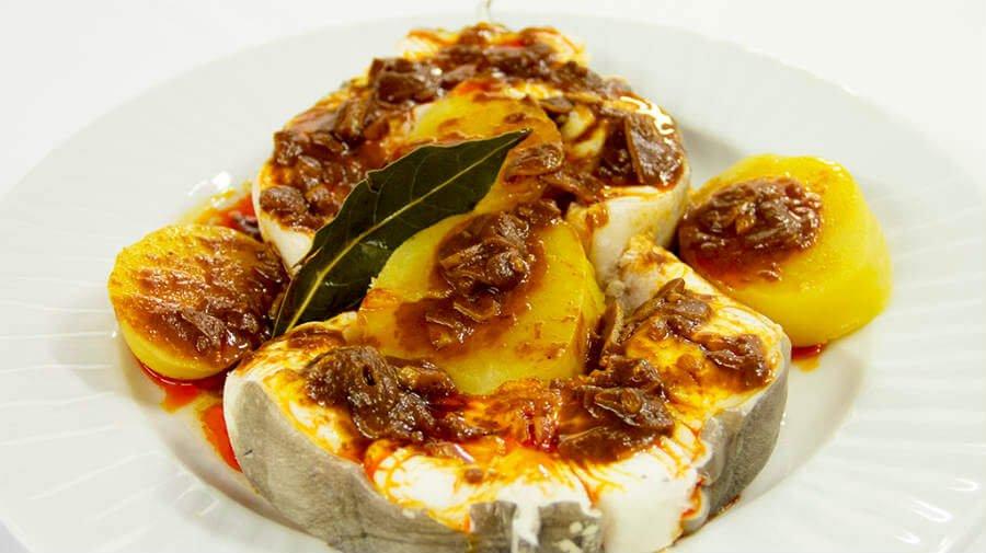 Congrio al Ajoarriero - Gastronomía en el Camino Francés :: Guía del Camino de Santiago