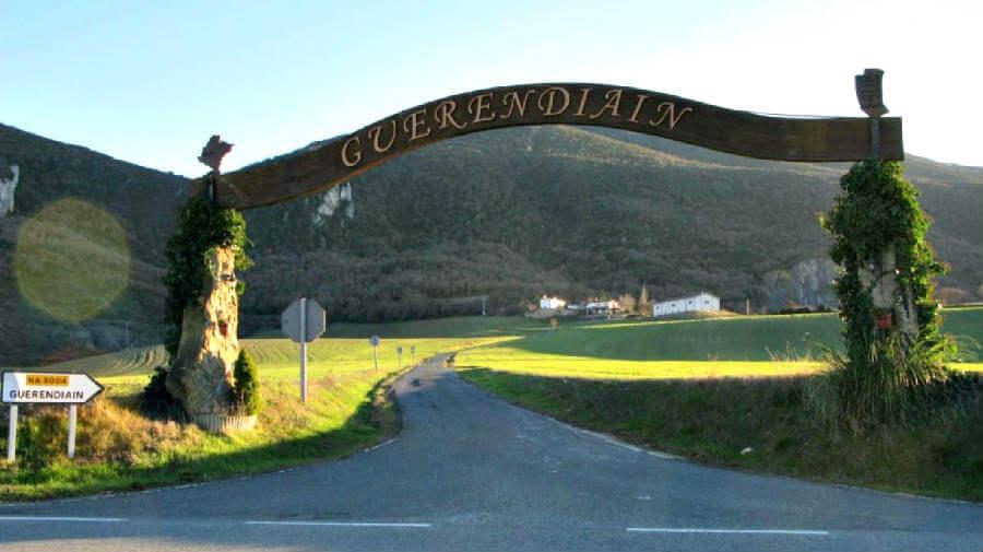Guerendiain. Valle de Elorz, Navarra - Camino Aragonés :: Guía del Camino de Santiago