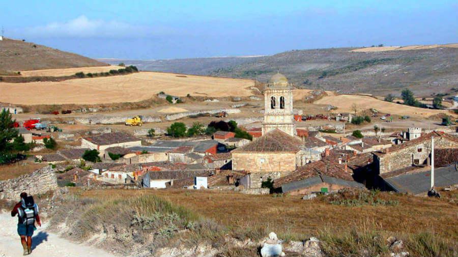 Hontanas, Burgos (Etapa de Hornillos del Camino a Castrojeriz) - Camino Francés :: Guía del Camino de Santiago