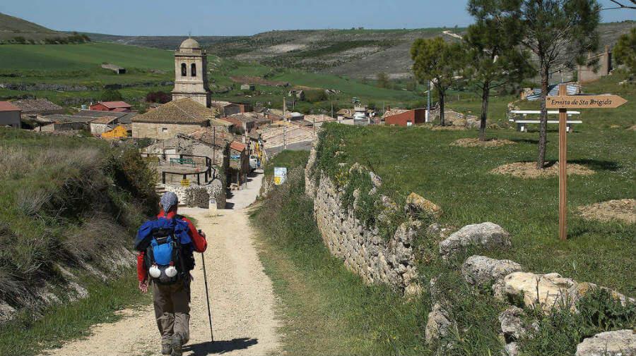 Hontanas, Burgos, Camino Francés :: Guía del Camino de Santiago