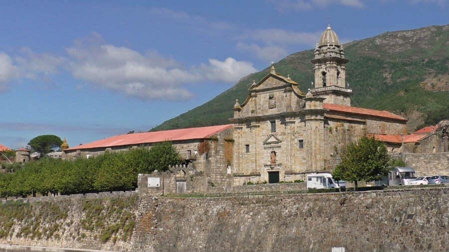 Monasterio de Oia, Mougás, Pontevedra, Camino de Santiago Portugués por la Costa :: Guía del Camino de Santiago