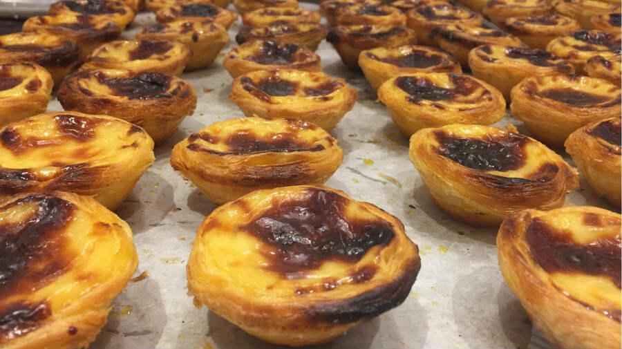 Natas, dulce típico de Oporto - Camino Portugués por la Costa :: Guía del Camino de Santiago